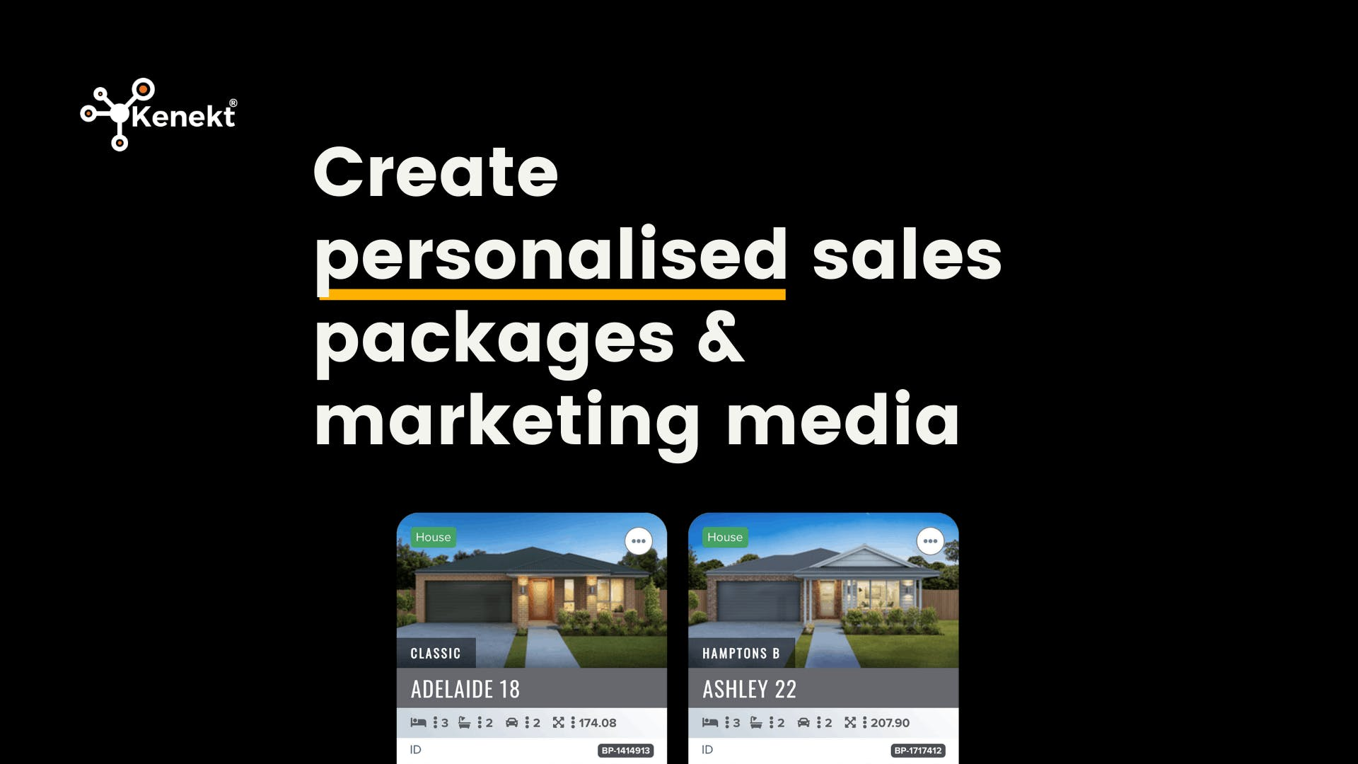 new land and house packages sydney with kenekt portals