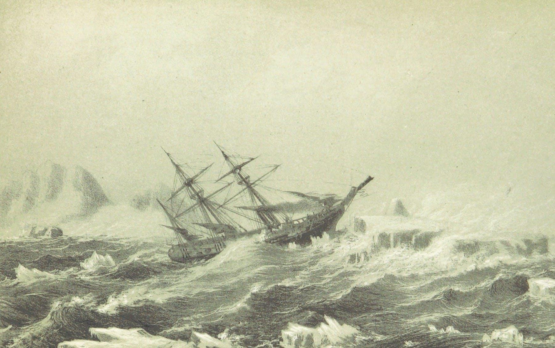 Stormy seas, indeed