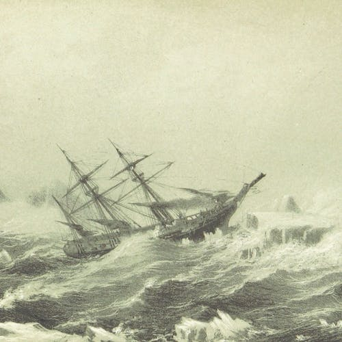 Stormy seas, indeed