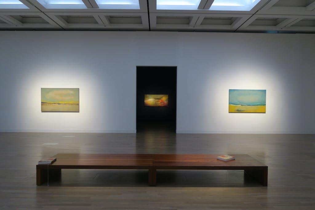 Leiko Ikemura at the Tokyo National Art Center