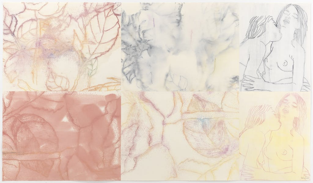 Reza Farkondeh & Ghada Amer, The Gardens Next Door B, 2010