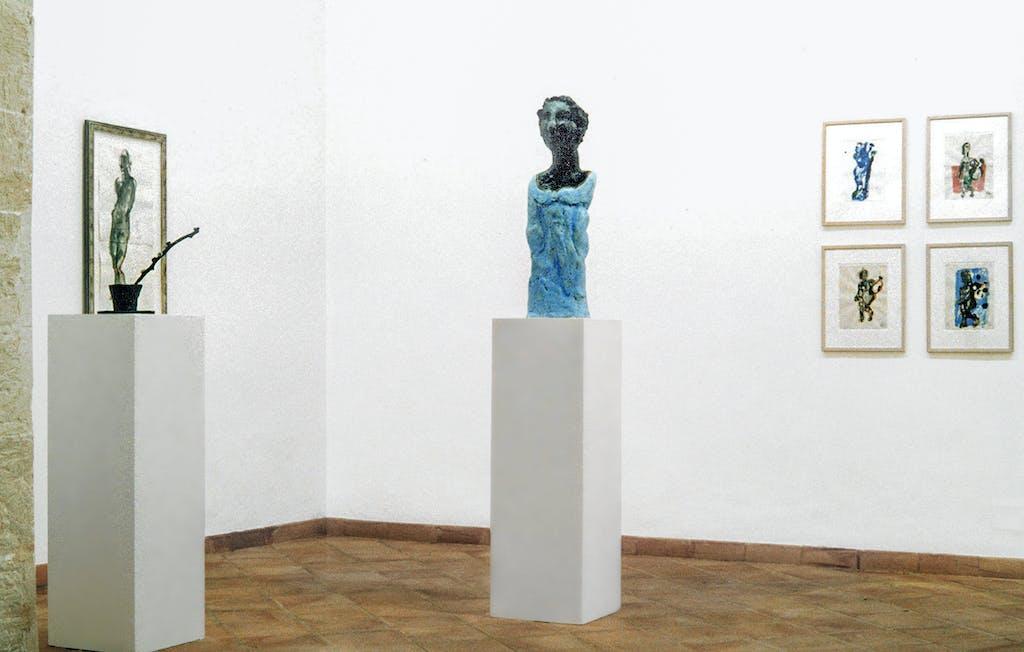 Markus Lüpertz, Esculturas y Dibujos