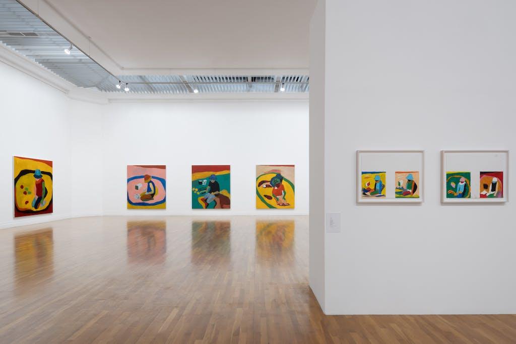 Sean Scully at the Royal Hibernian Academy Gallery, Dublin, Ireland