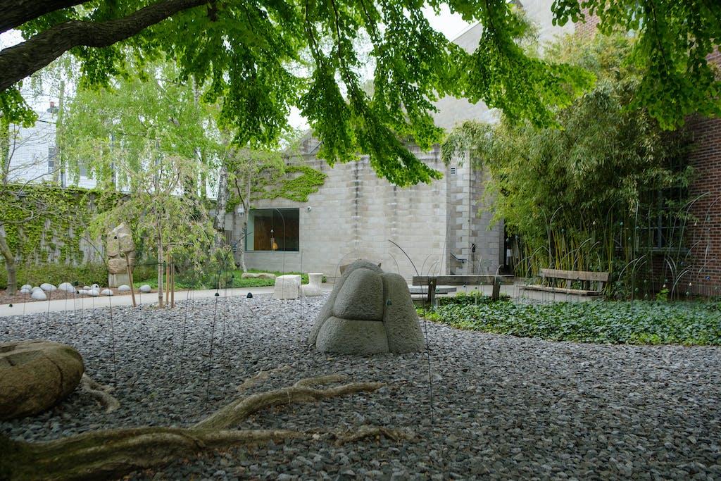 Christian Boltanski at the Noguchi Museum