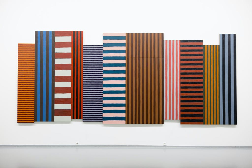 Sean Scully at the Multimedia Art Museum, Moscow