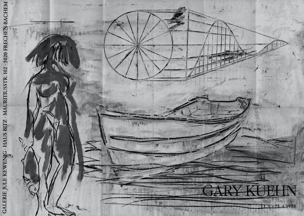 Gary Kuehn, Paintings and Drawings