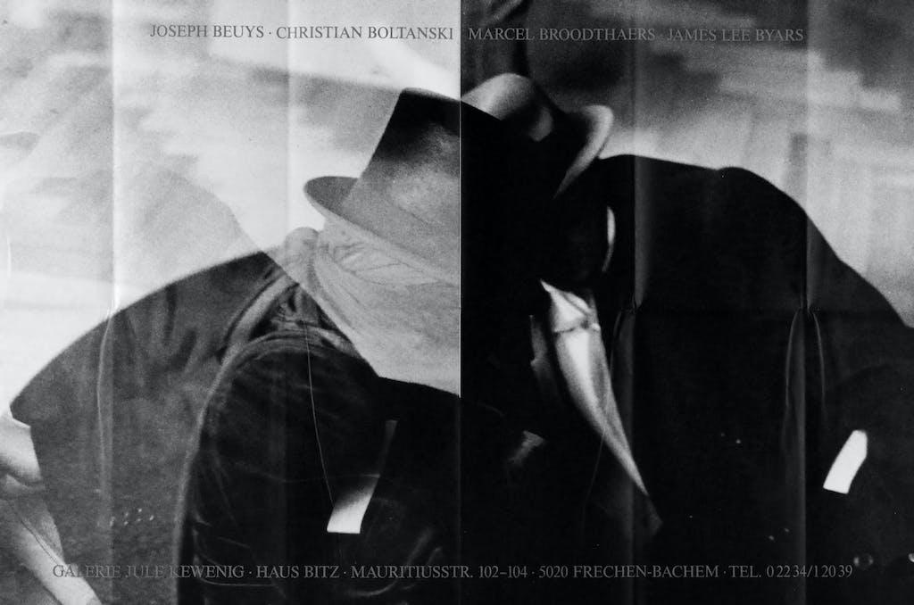 Beuys – Boltanski – Broodthaers – Byars