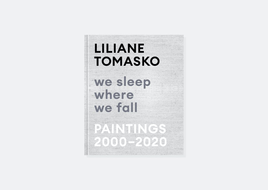 "Liliane Tomasko ""we sleep where we fall. Paintings 2000-2020"""