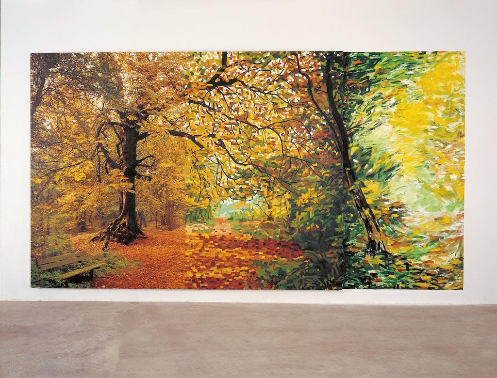 Bertrand Lavier, Landscape Painting And Beyond, 1979 Collection FRAC Bourgogne Photographie © Studio Rémi Villaggi