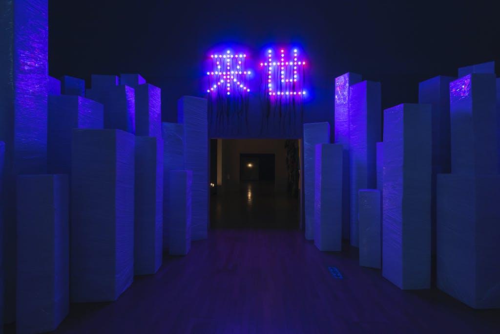 Christian Boltanski at the National Art Center, Tokyo