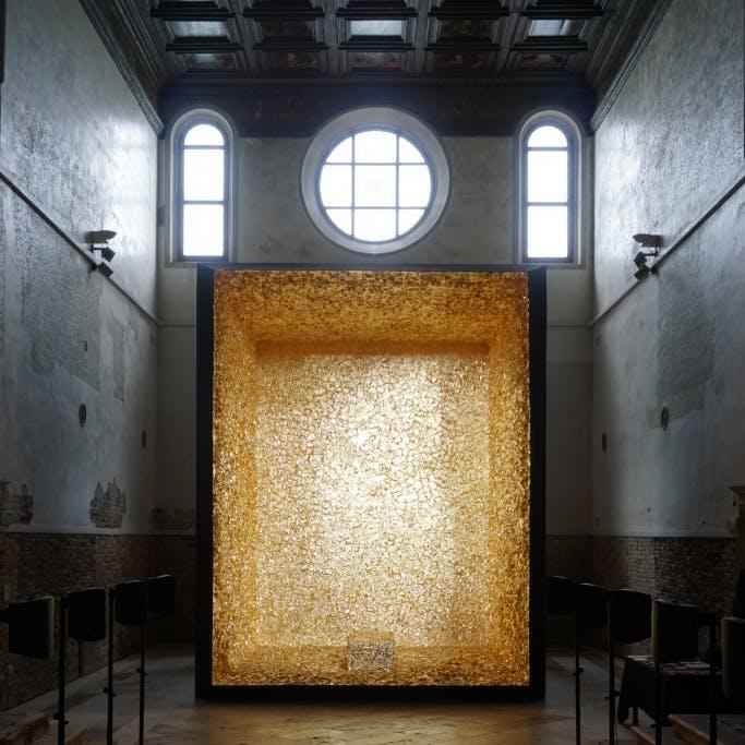 James Lee Byars at Chiesa di Santa Maria della Visitazione, Venice