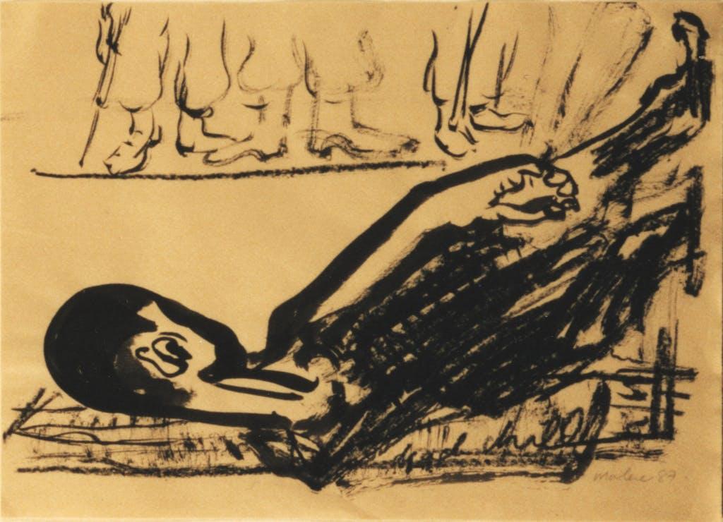 Marlène Dumas, Dead Child, 1987