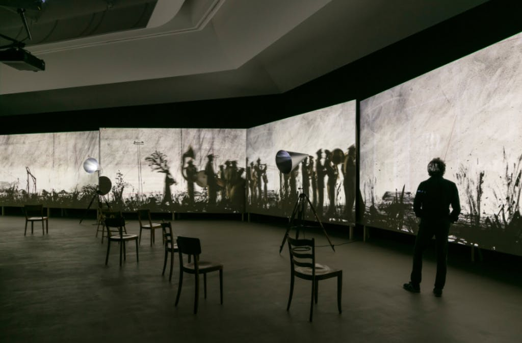 William Kentridge, A Poem That is Not our Own