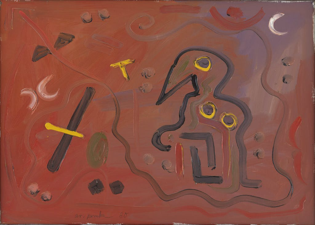 A. R. Penck, Untitled, 1980