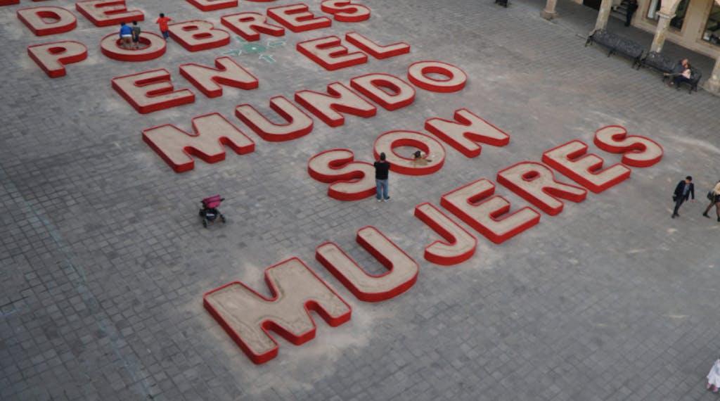 Ghada Amer at MAZ – Museo de Arte de Zapopan, Guadalajara, Mexico