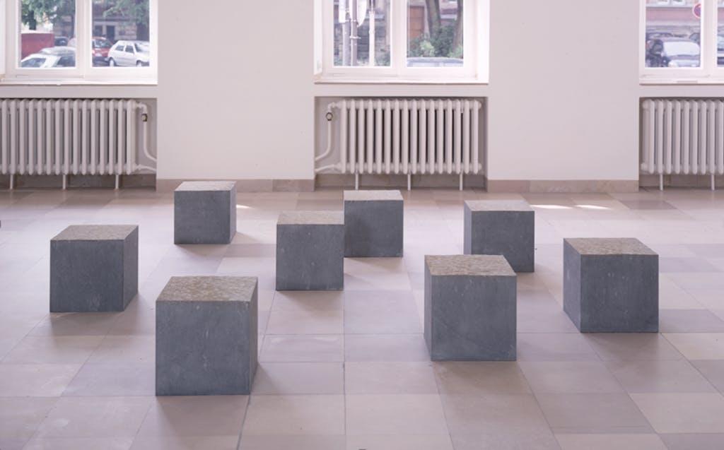 Ulrich Rückriem, Vier Skulpturen
