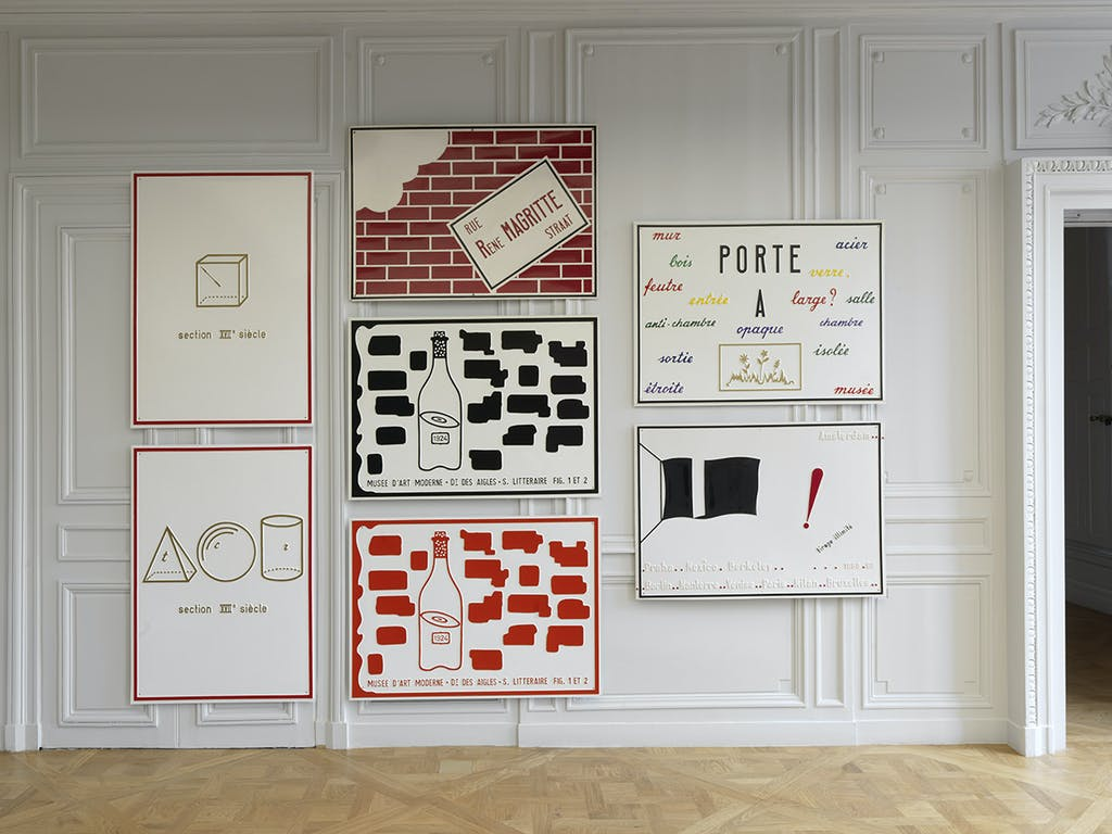 Marcel Broodthaers, Musée d'Art Moderne – Département des Aigles, 1968-1972