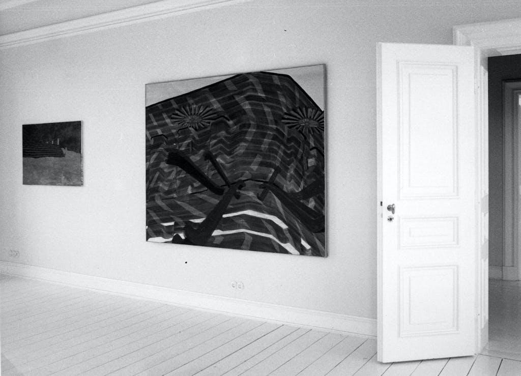 Hendrik Krawen, Rolltreppe – Ölbilder