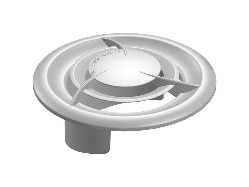 Blade™ signature vent collar and diffuser