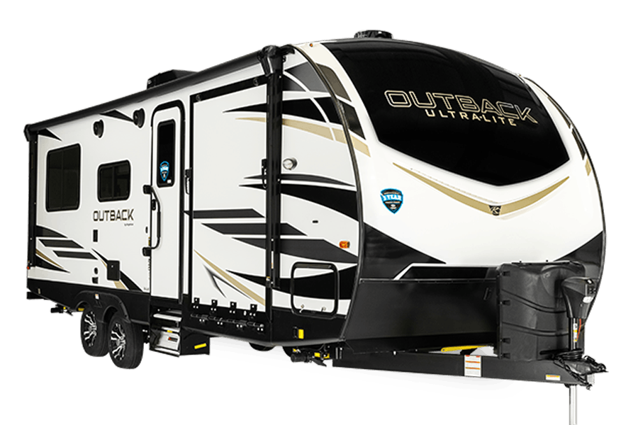 Outback Ultra-Lite Toy Hauler Travel Trailers