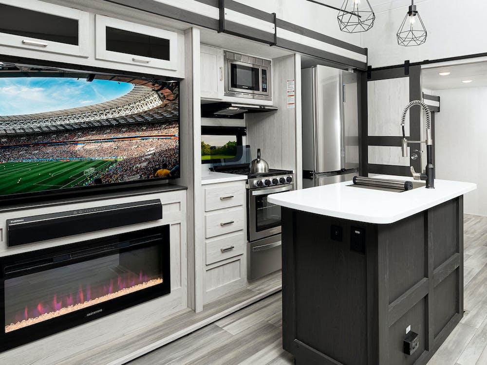 Sprinter 3590LFT kitchen