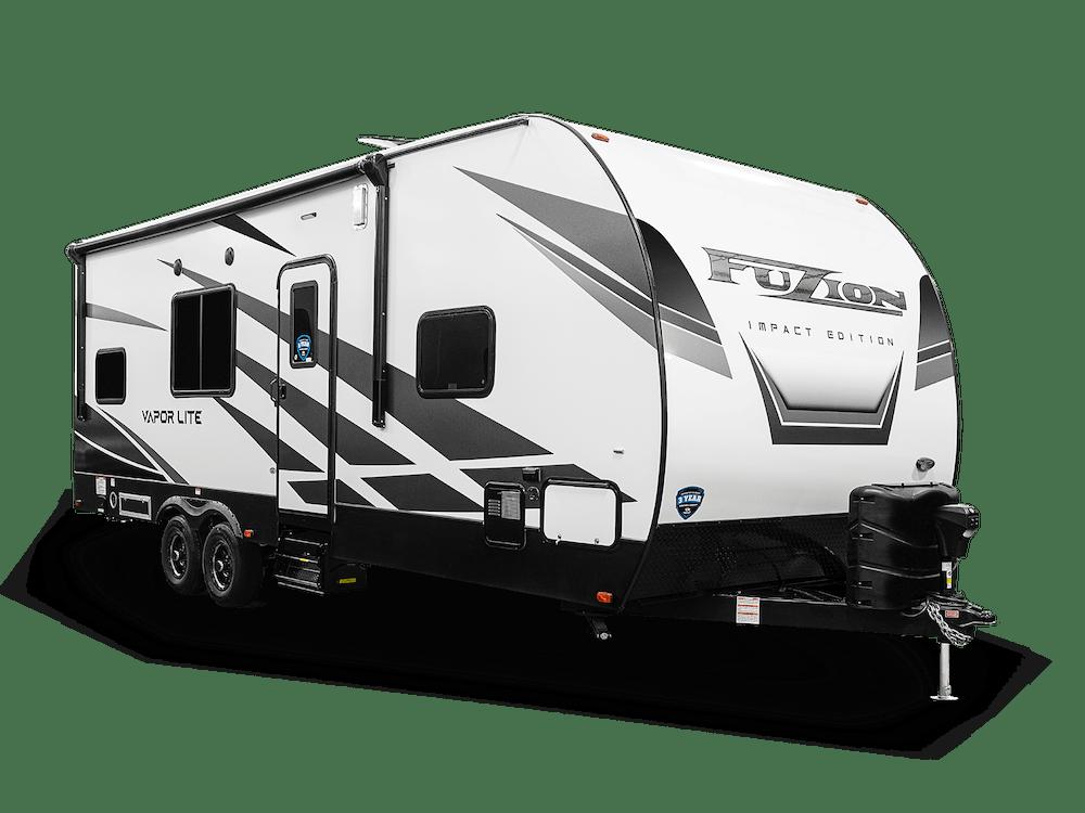 Impact travel trailer exterior