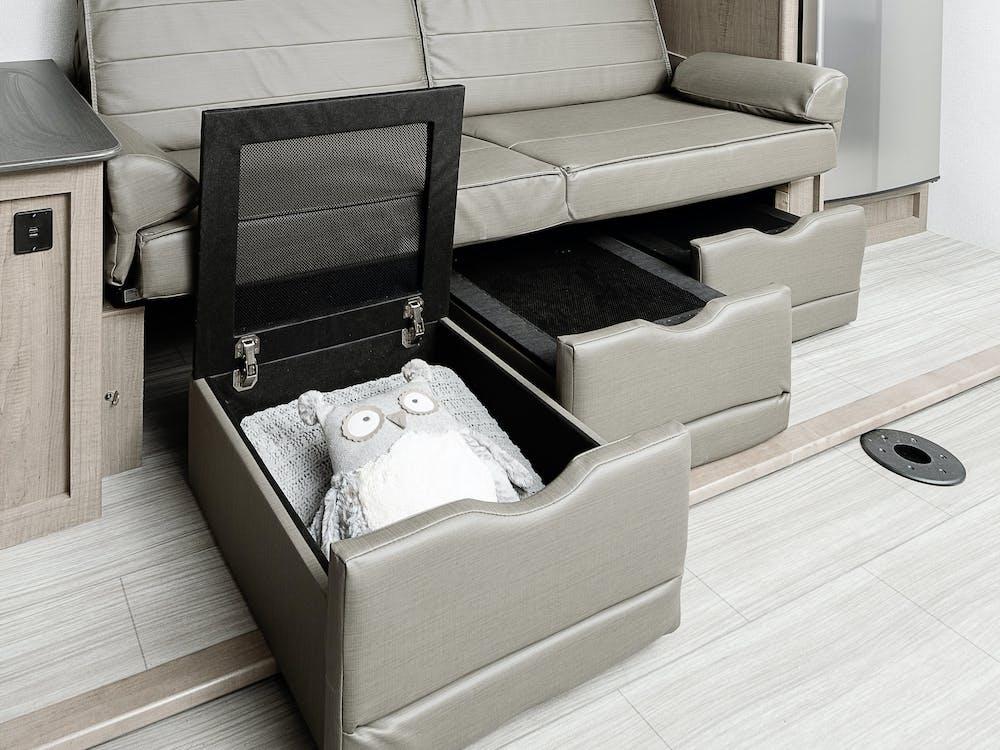 243RB sofa storage
