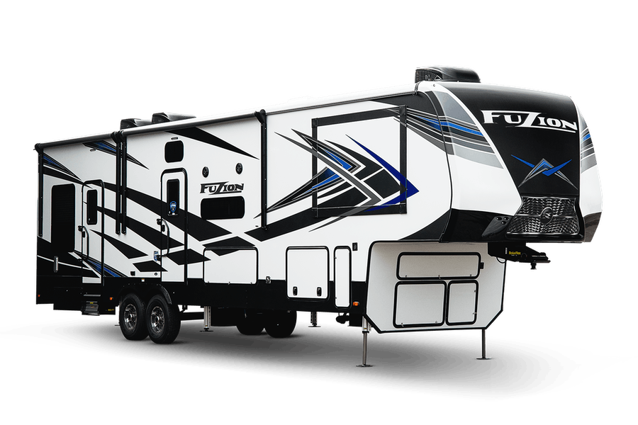 Fuzion Toy Hauler Fifth Wheels