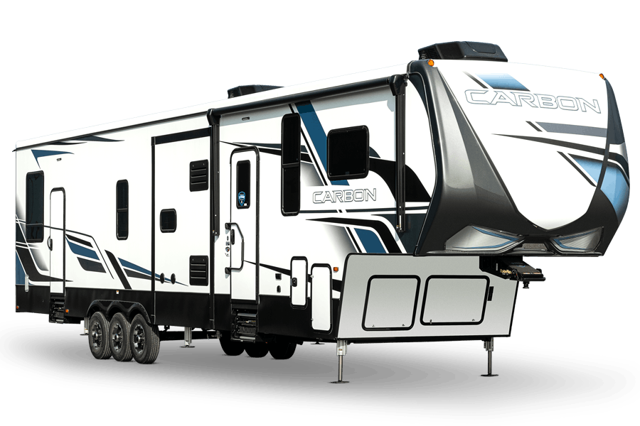 Carbon Toy Hauler Fifth Wheels