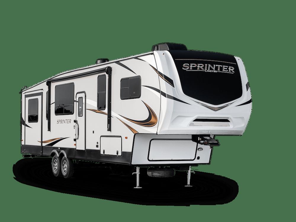 Sprinter Limited Fifth Wheel exterior