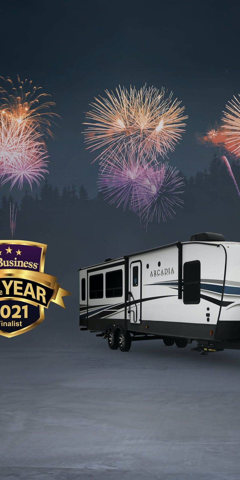 RV OF THE YEAR FINALIST!