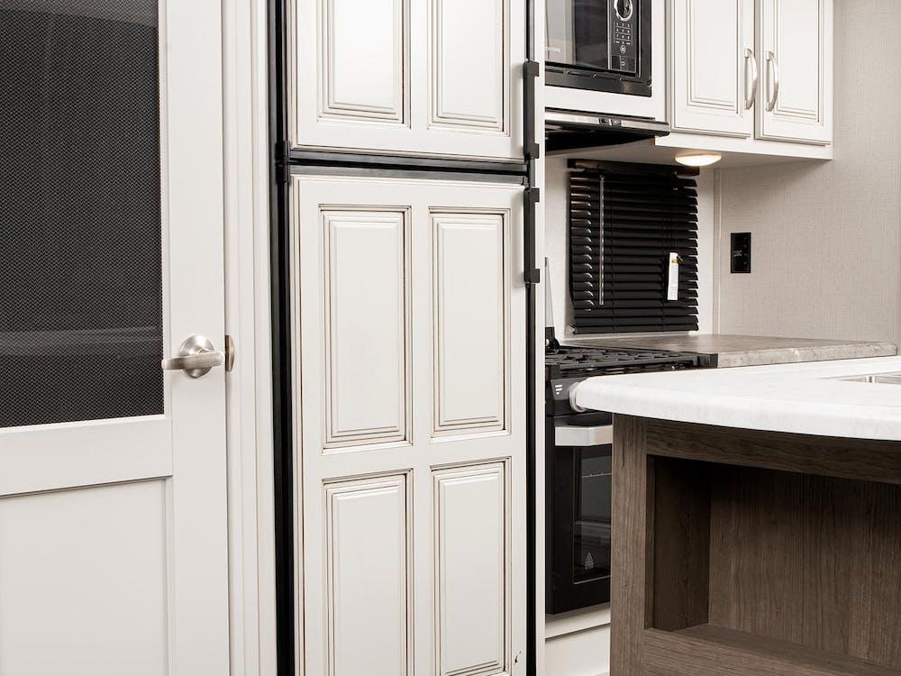 30RLS Refrigerator with Wood Door