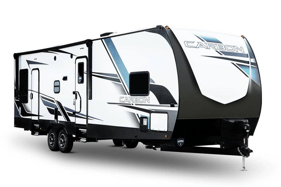 Carbon Toy Hauler Travel Trailers