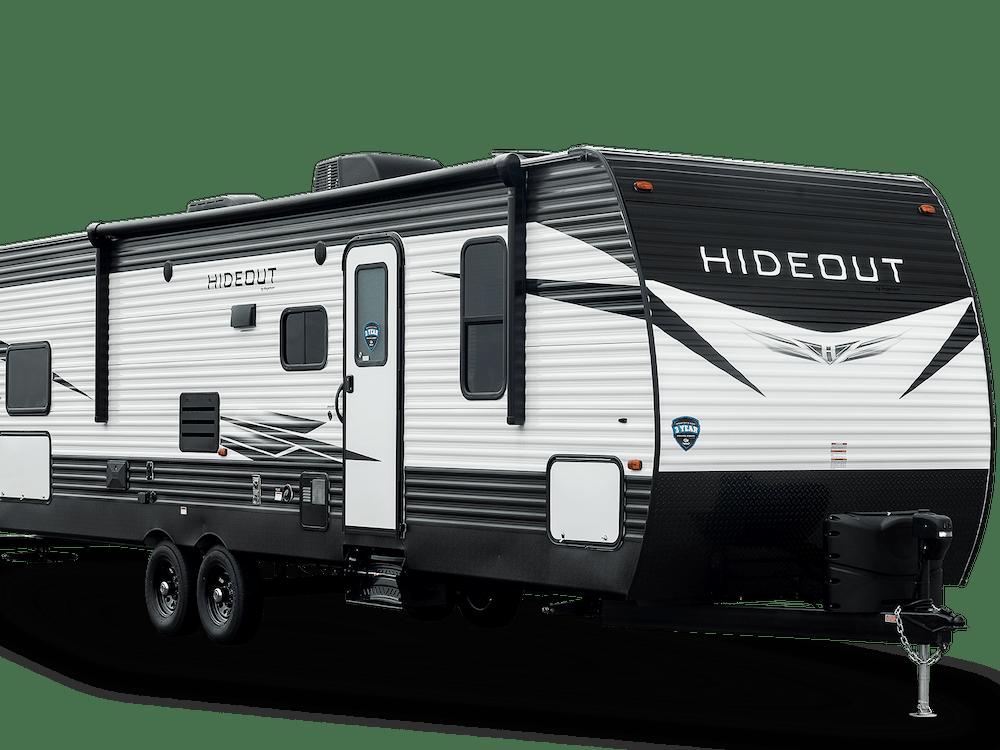 Hideout Travel Trailer exterior
