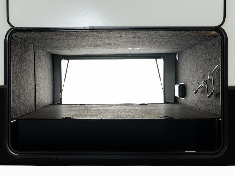 Keystone Arcadia pass-through storage