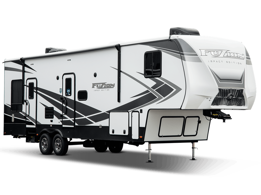 Impact fifth wheel exterior