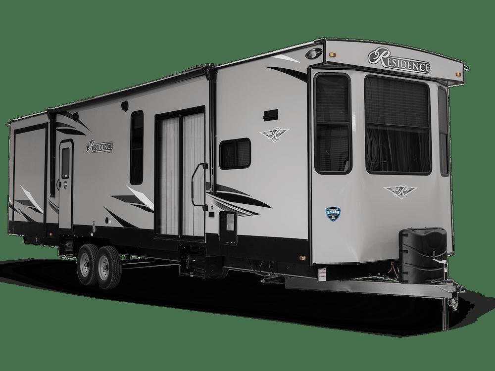 Residence destination trailer