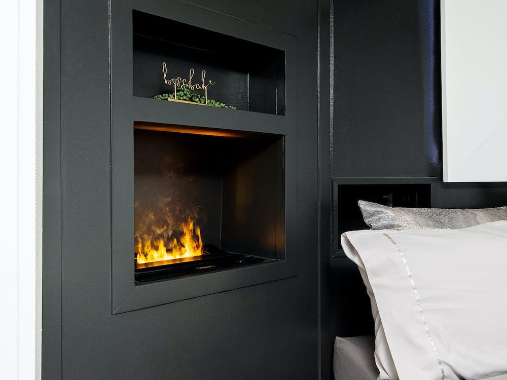 The Ultimate Montana bedroom fireplace