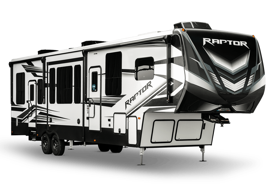 Raptor Toy Hauler Fifth Wheels