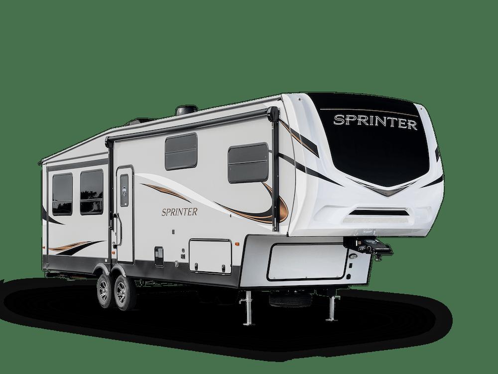 Sprinter Fifth Wheel exterior