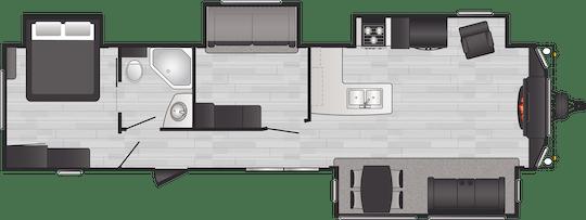 Residence Destination Travel Trailers Compare Floorplans Keystone Rv