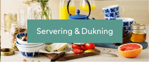 Servering & Dukning