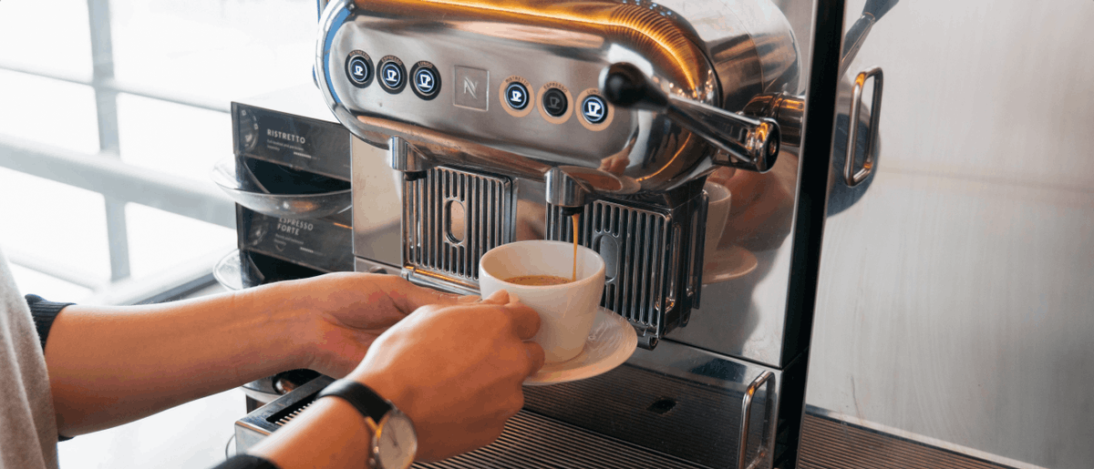 Coffee machine in the office