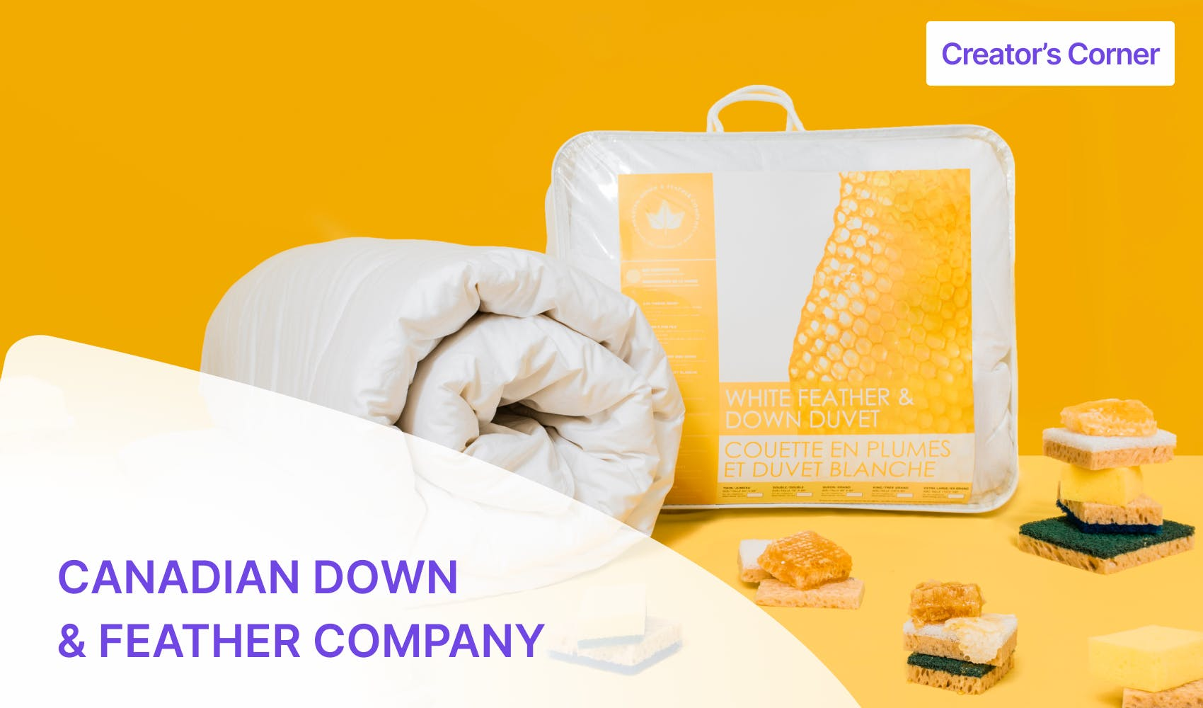 Canadian Down & Feather Company article banner image