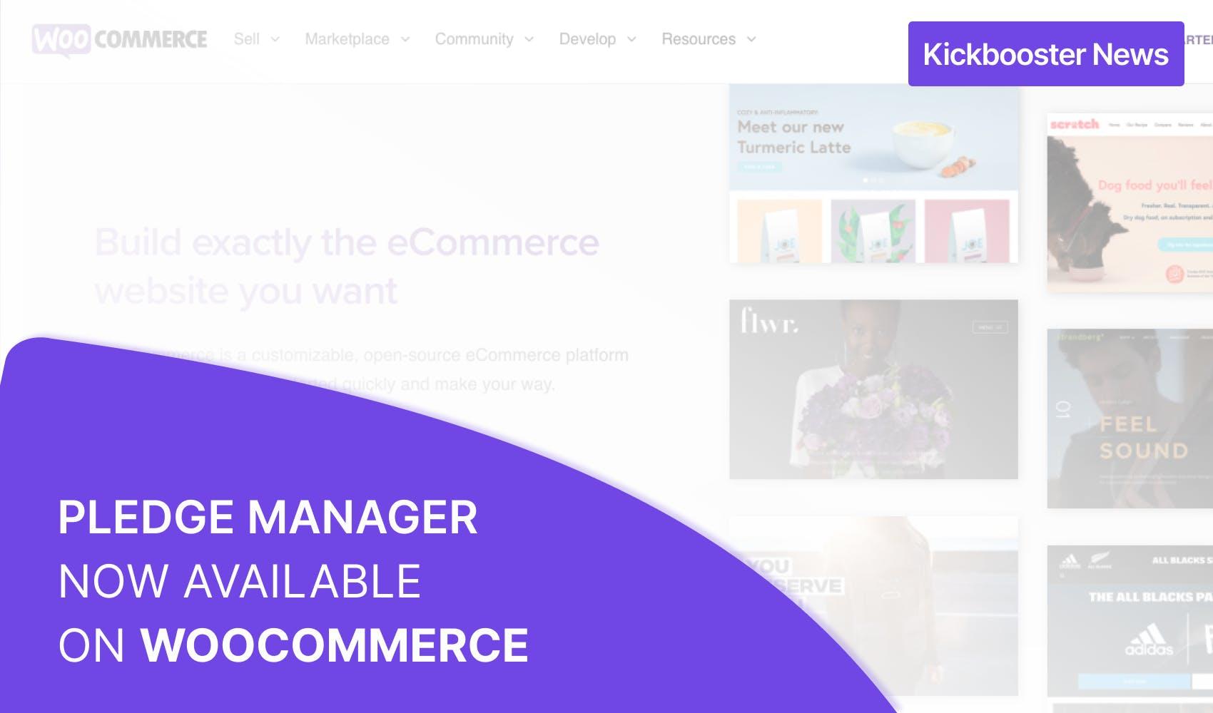 Pledge Manager on WooCommerce