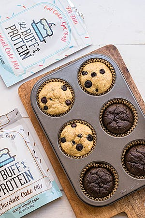 Lil Buff Protein muffins