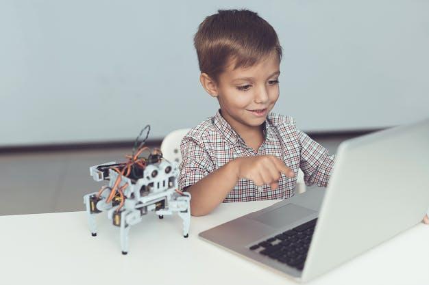 онлайн-обучение для ребенка