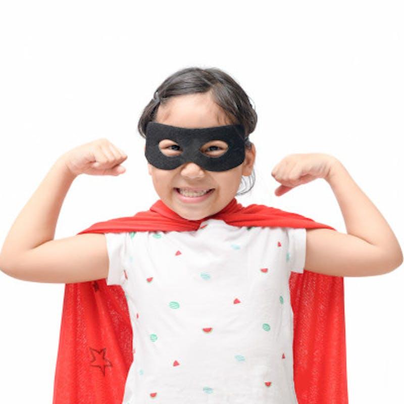 Ребёнок супер герой