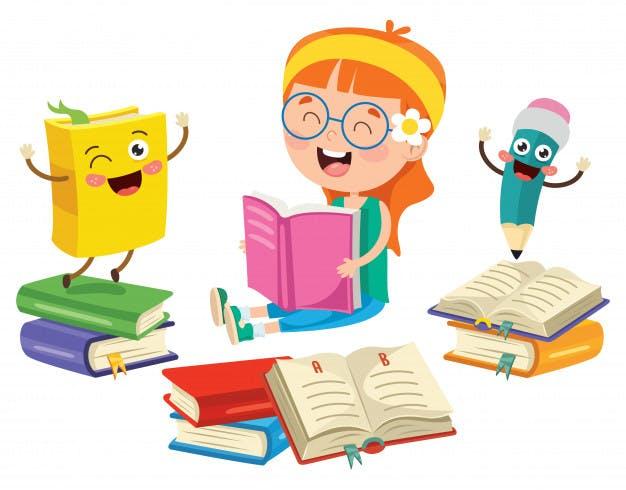 ребенок читает с удовольствием