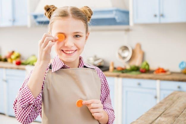 Здоровые продукты для детей